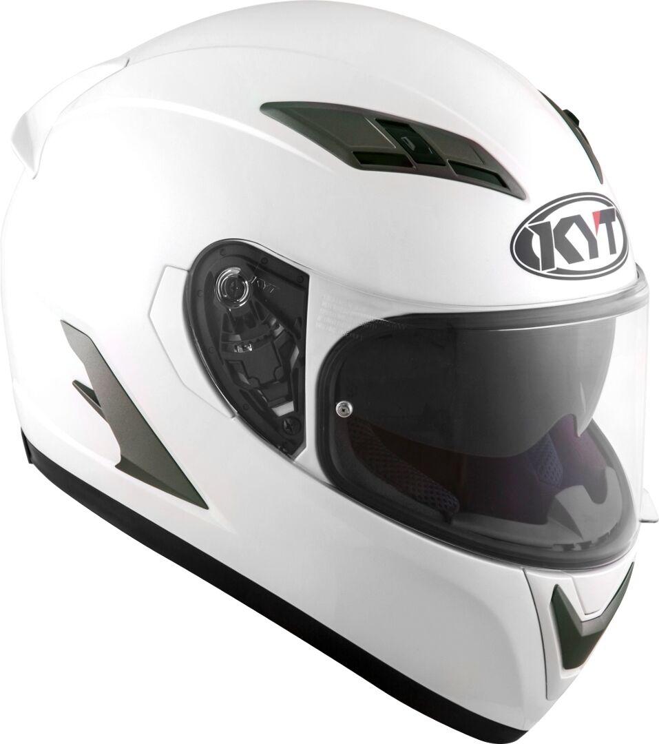 KYT Falcon 2 Plain Casco Bianco L