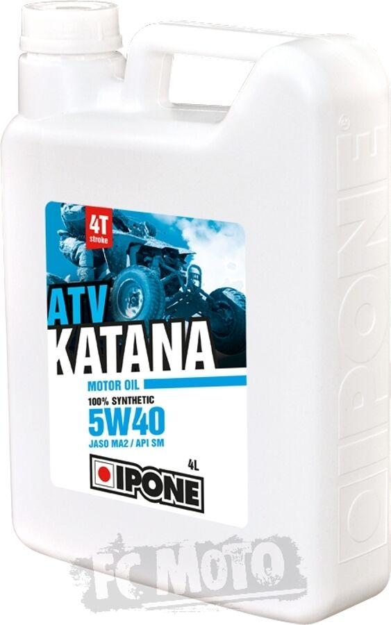 IPONE Katana ATV 5W-40 Olio motore/ingranaggio 4 litri
