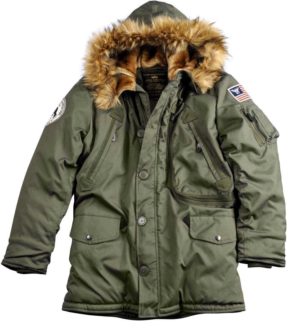 Alpha Polar Giacca Verde XL
