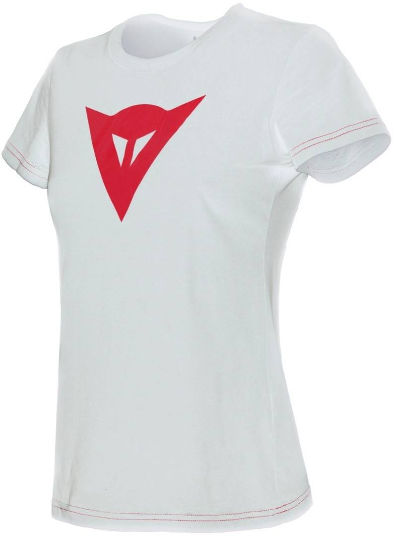 Dainese Demon T-shirt donna Bianco Rosso L