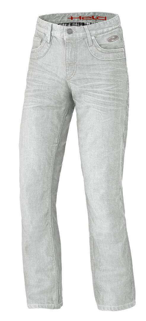 Held Hoover Stretch Pantaloni Jeans moto Grigio 40