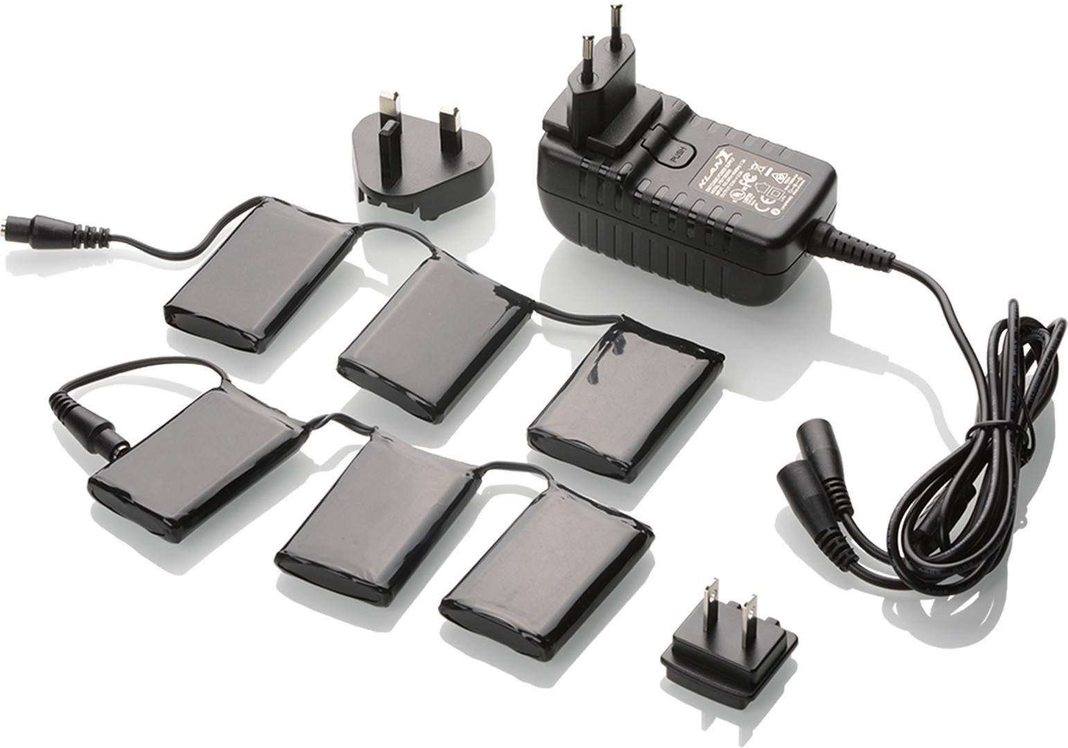 klan-e 12v/3a battery kit kit batteria