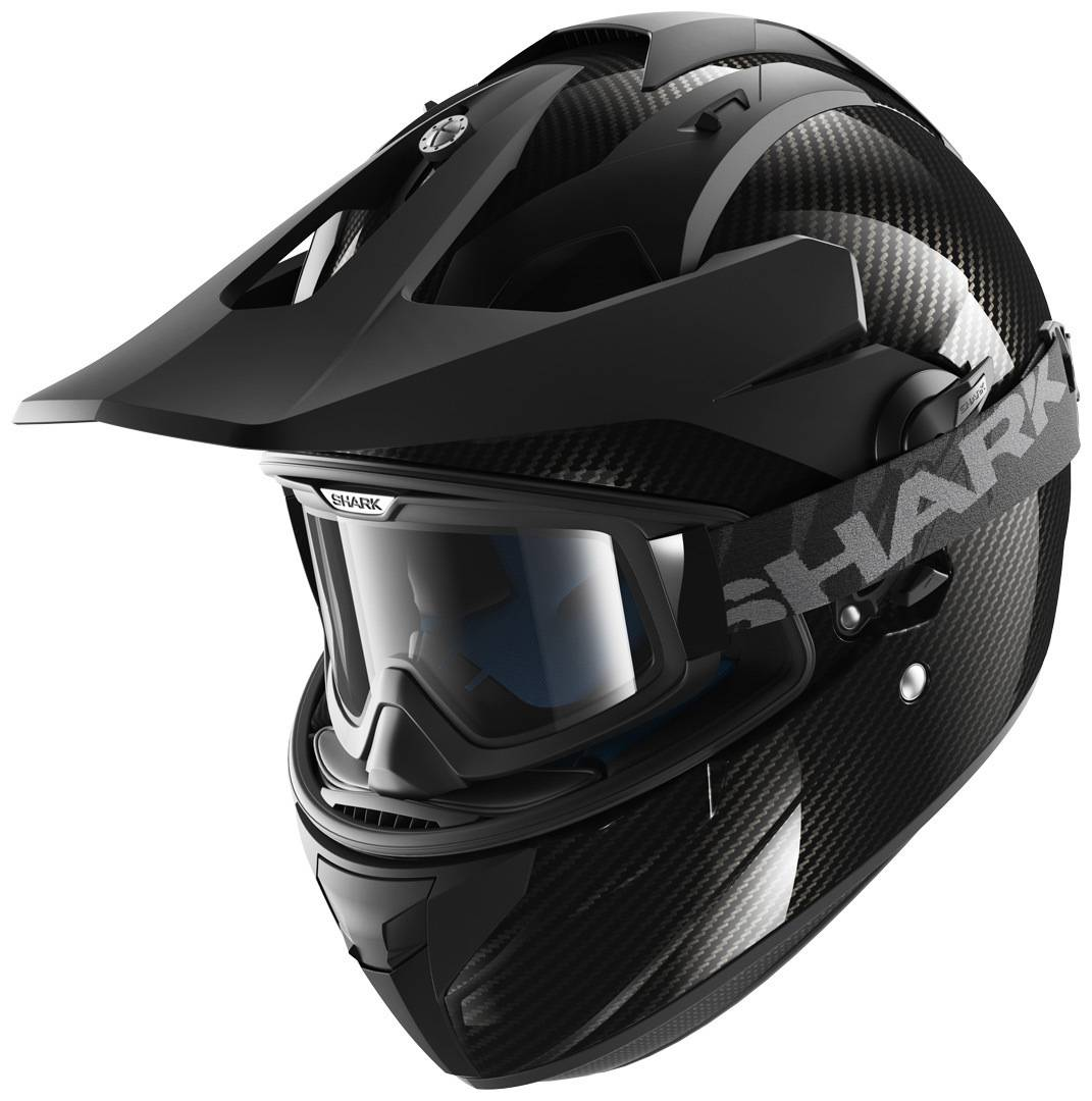 Shark Explore-R Carbon Skin 2015 Casco Carbone XS