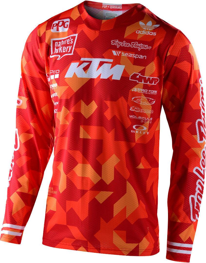 Lee GP Air Confetti Team KTM Maglia Motocross