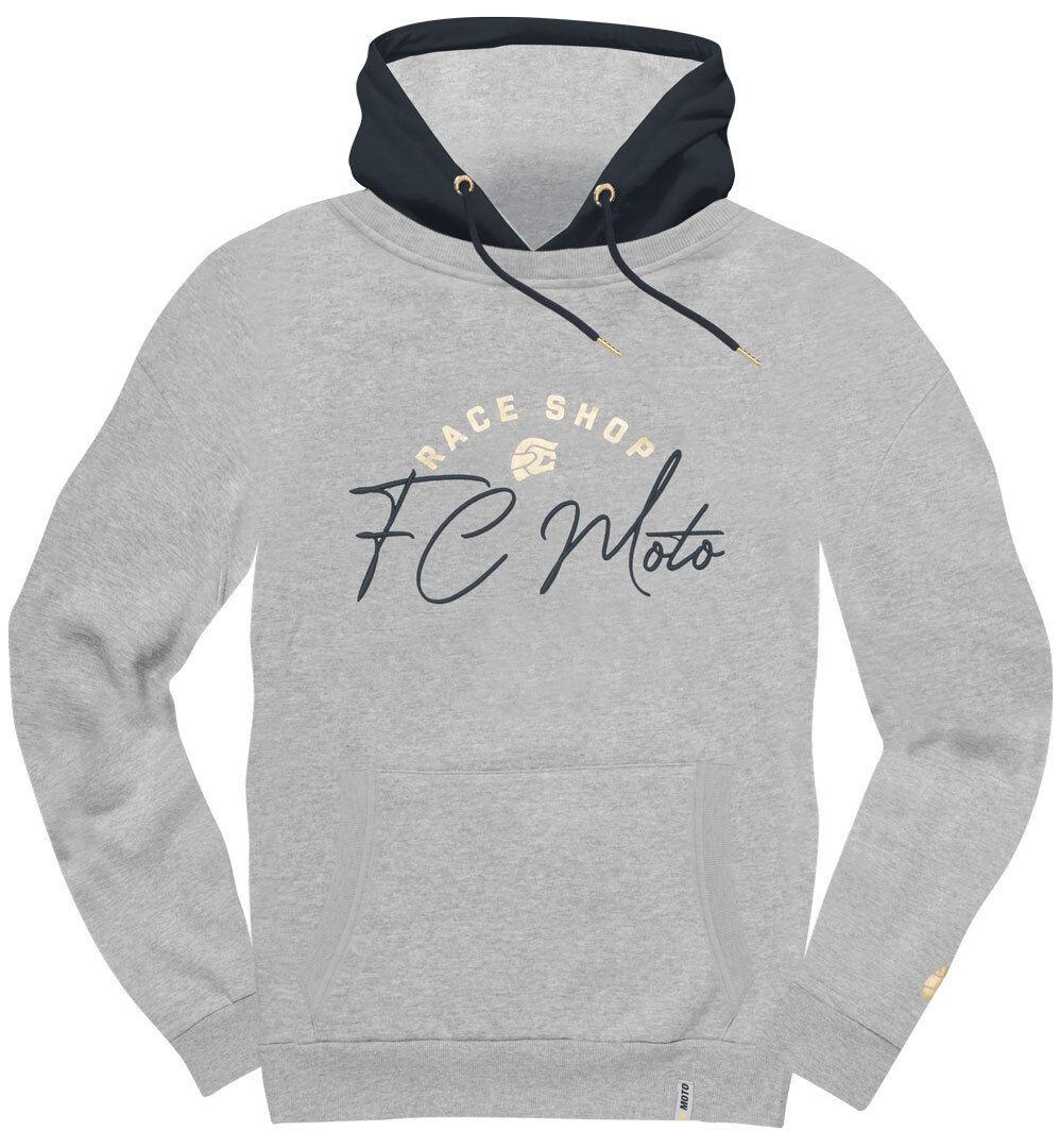 FC-Moto FCM-Sign Felpa con cappuccio da donna