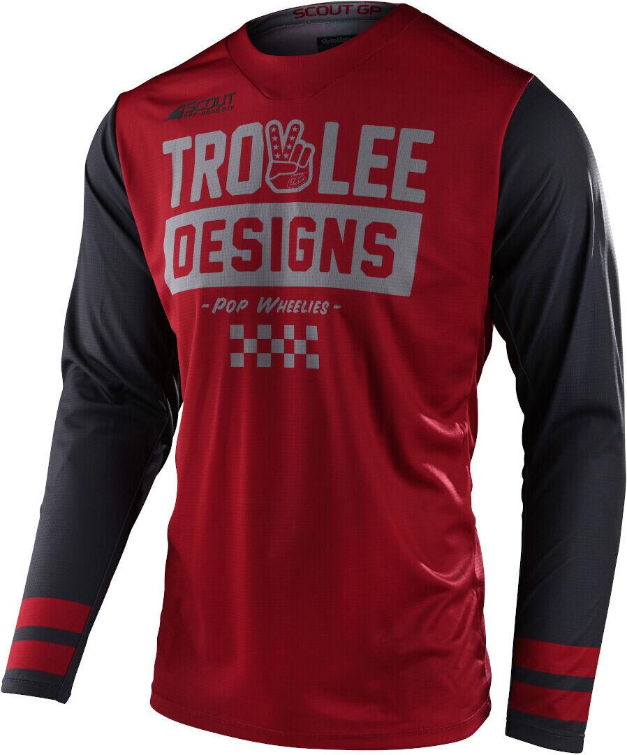 Lee Scout GP Peace & Wheelies Maglia motocross
