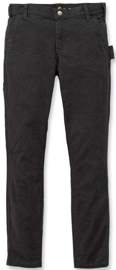 Carhartt Slim Fit Crawford Pantaloni donna Nero 37