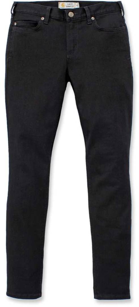 Carhartt Rugged Flex Slim-Fit Layton Pantaloni Skinny Ladies Nero 36