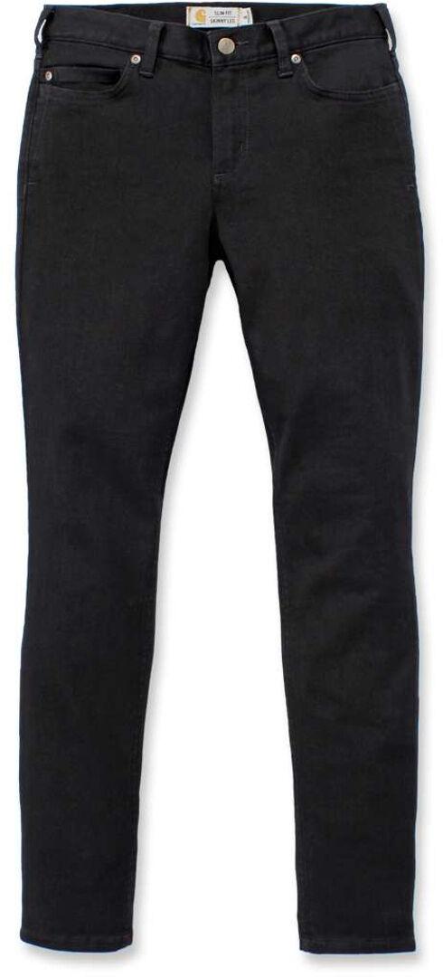 Carhartt Rugged Flex Slim-Fit Layton Pantaloni Skinny Ladies Nero 46 47