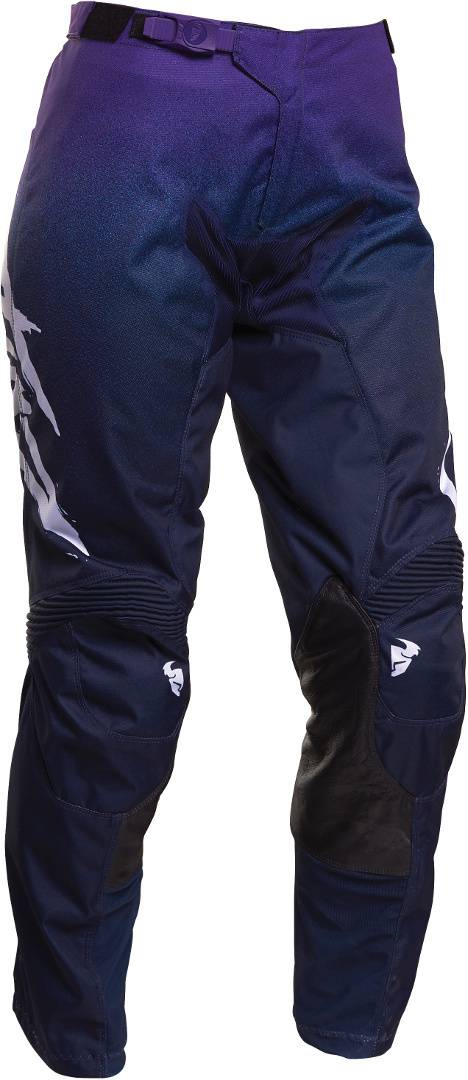 Thor Pulse Fader Pantaloni Ladies Motocross Blu 24