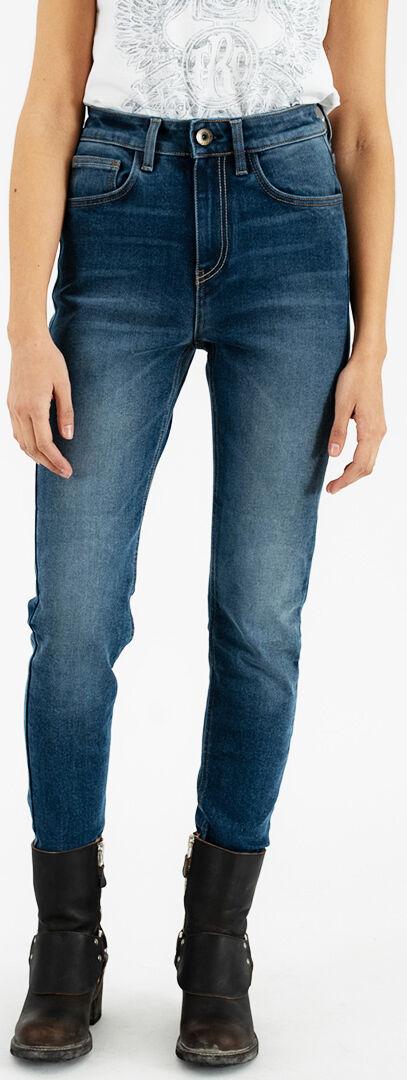 Rokker tech High Waist Jeans da moto donna