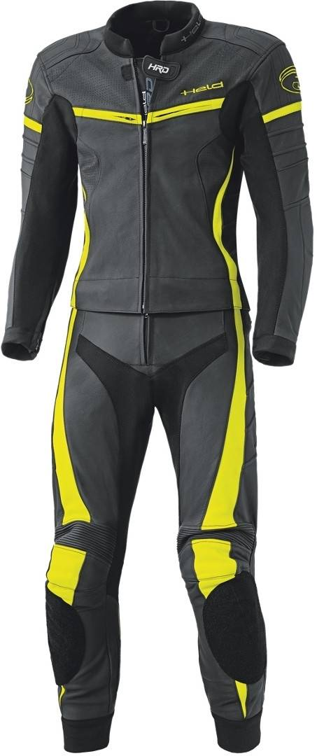 Held Spire Two Piece Motorcycle Leather Suit Abito moto due pezzi in pelle