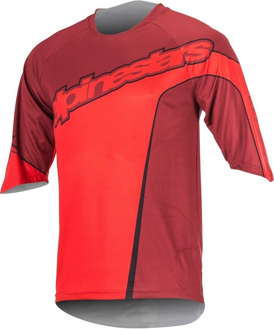 Alpinestars Crest 3/4 Camicia di biciclette Rosso XL