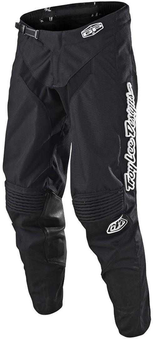 Lee GP Mono Pantaloni Motocross della gioventù Nero XL