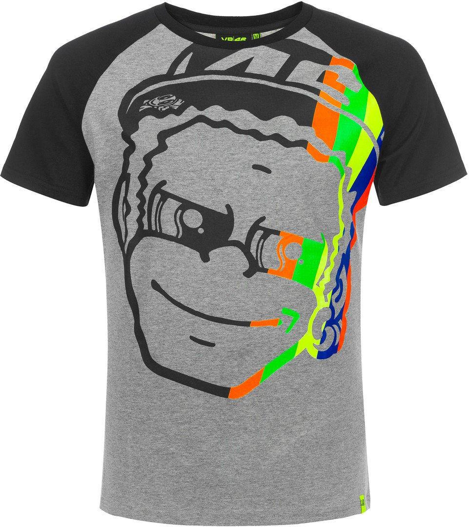 VR46 Dottorino T-shirt Grigio S