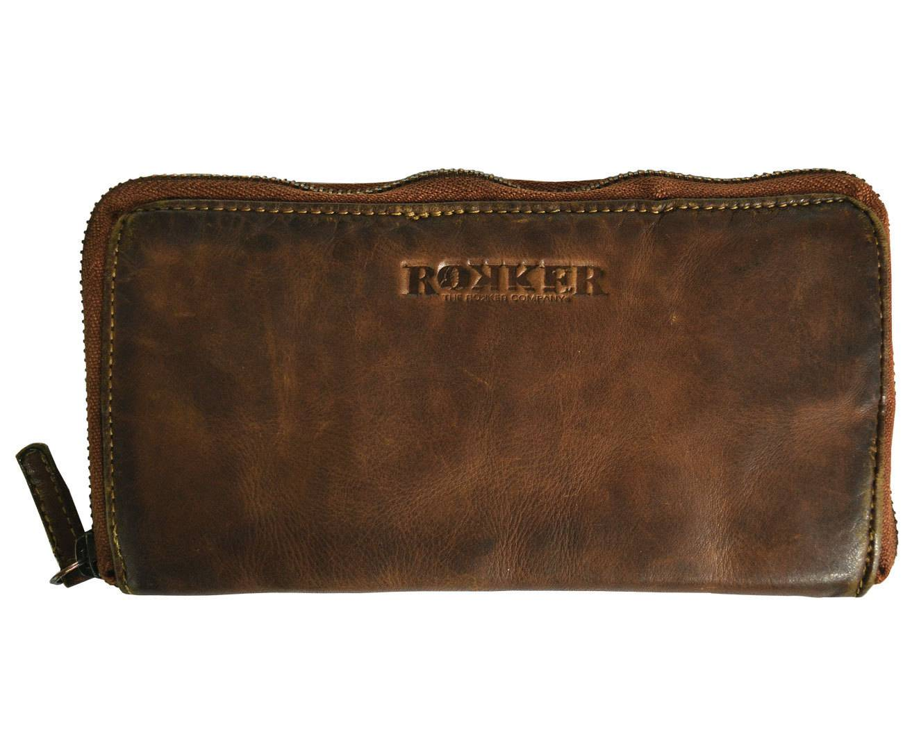 Rokker Lady Wallet Big Marrone