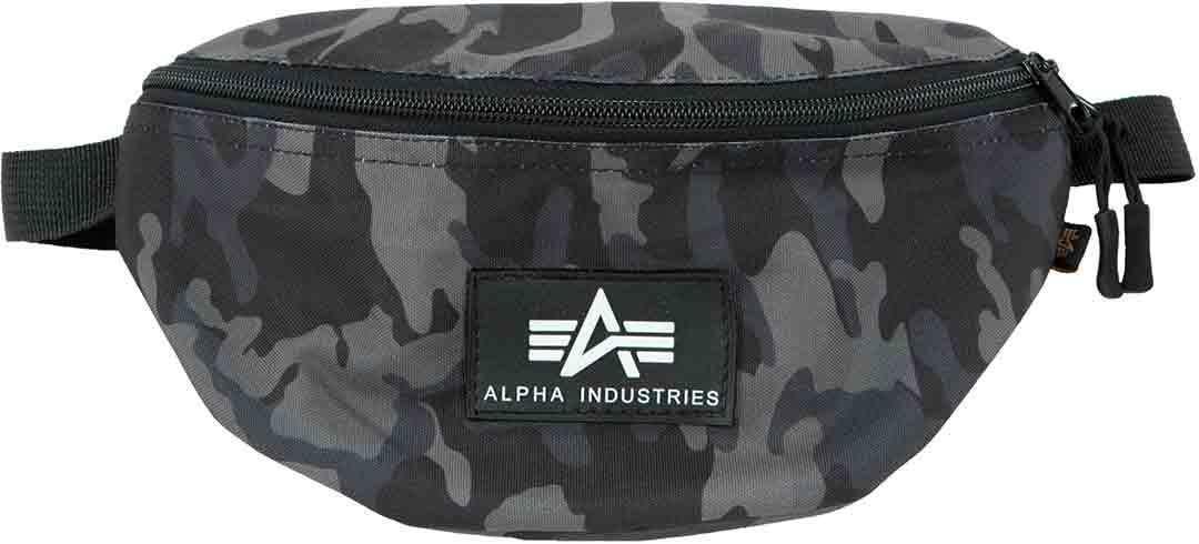 Alpha Rubber Print Borsa in vita