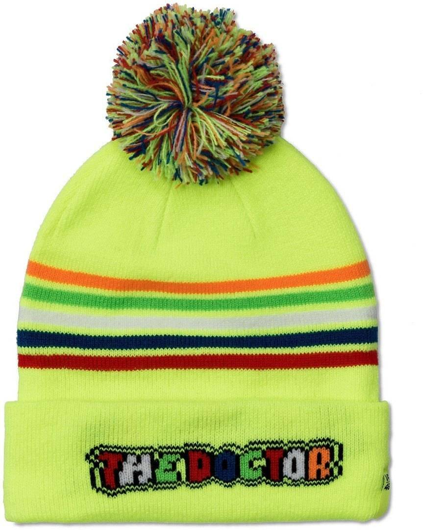 VR46 The Doctor Beanie Hat Bambini cappello Giallo
