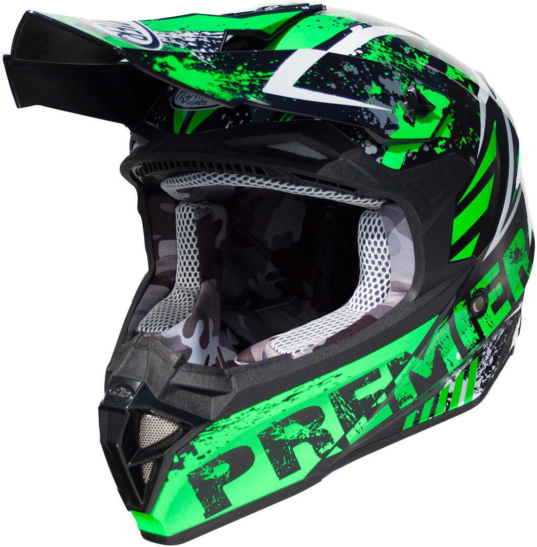Premier Exige ZX7 Casco di motocross