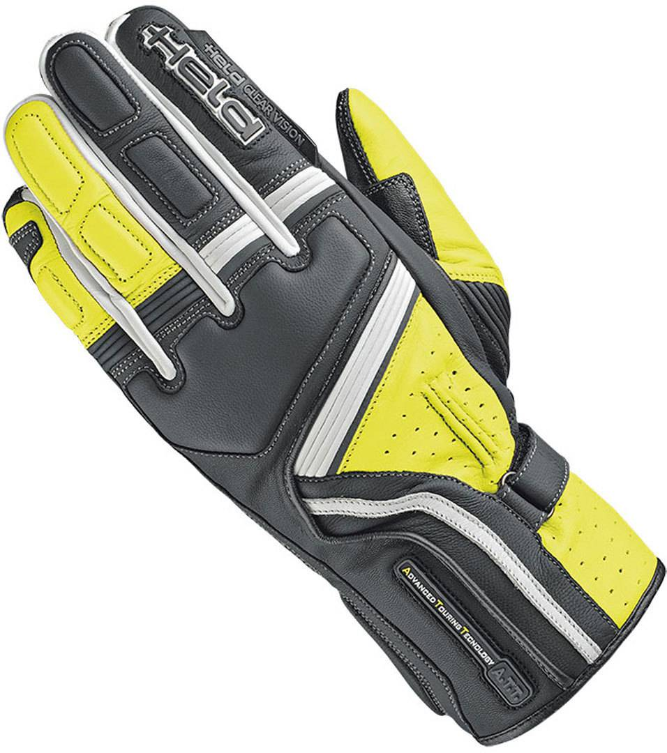 Held Travel 5 Guanti moto Nero Giallo XL