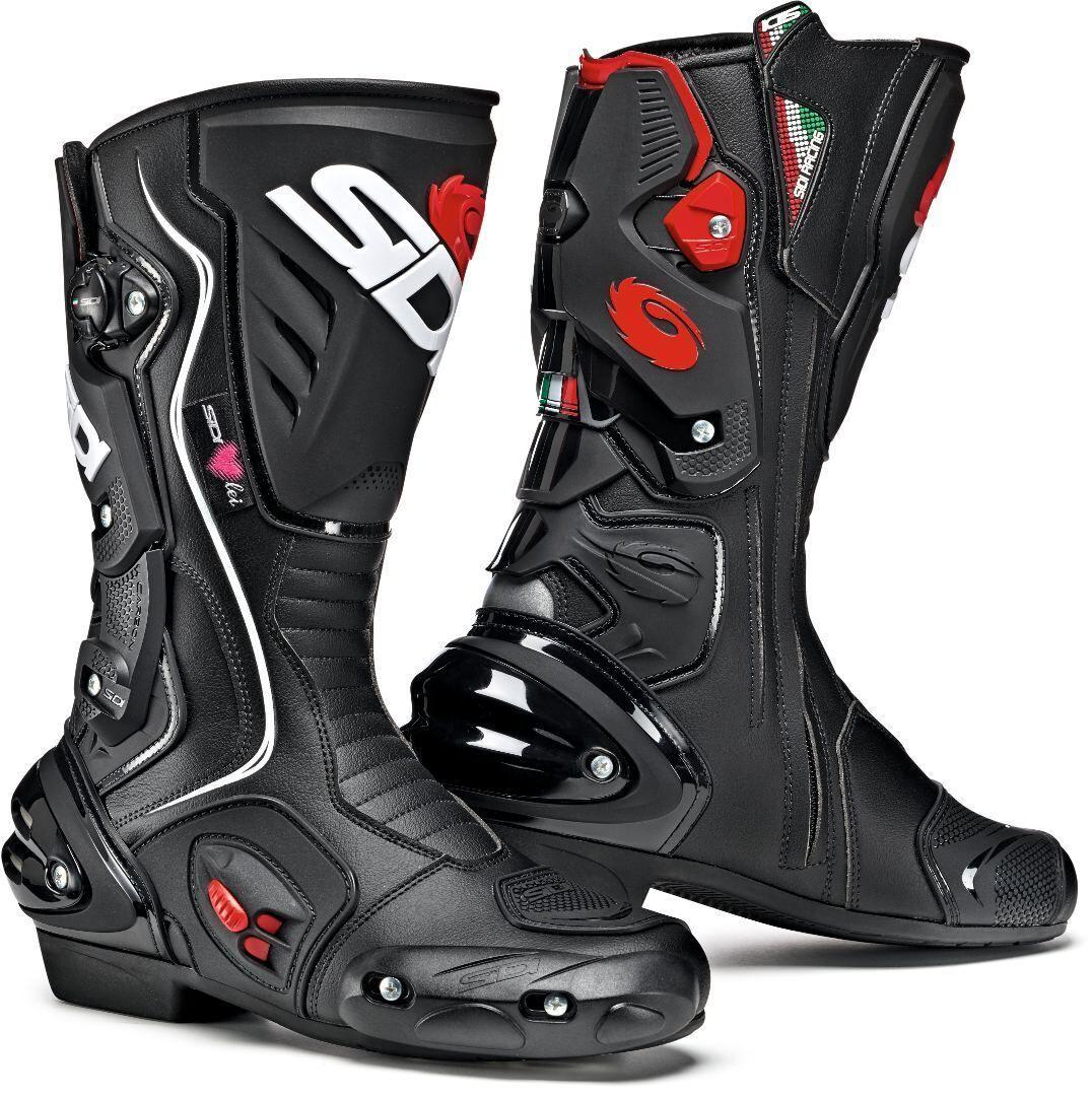 Sidi Vertigo 2 Ladies Motorcycle Boots Scarpe da donna per motocicl... Nero 38