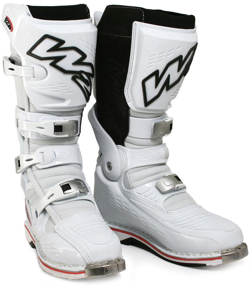 W2 Unadilla Stivali motocross Bianco 46