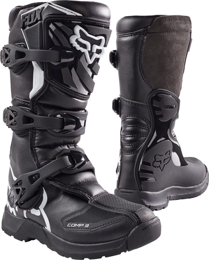 Fox Comp 3Y Stivali Motocross della gioventù