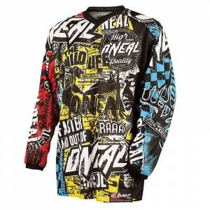 Oneal Element Wild Maglia Motocross Giovanile