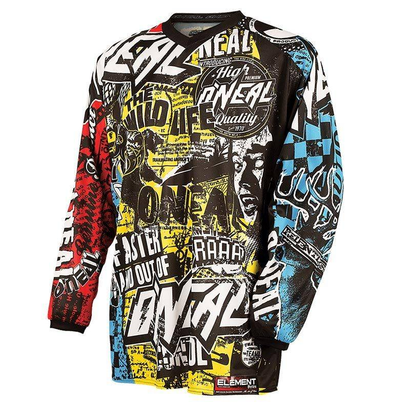 Oneal O´Neal Element Wild Sleeve t-shirt Multicolore XL