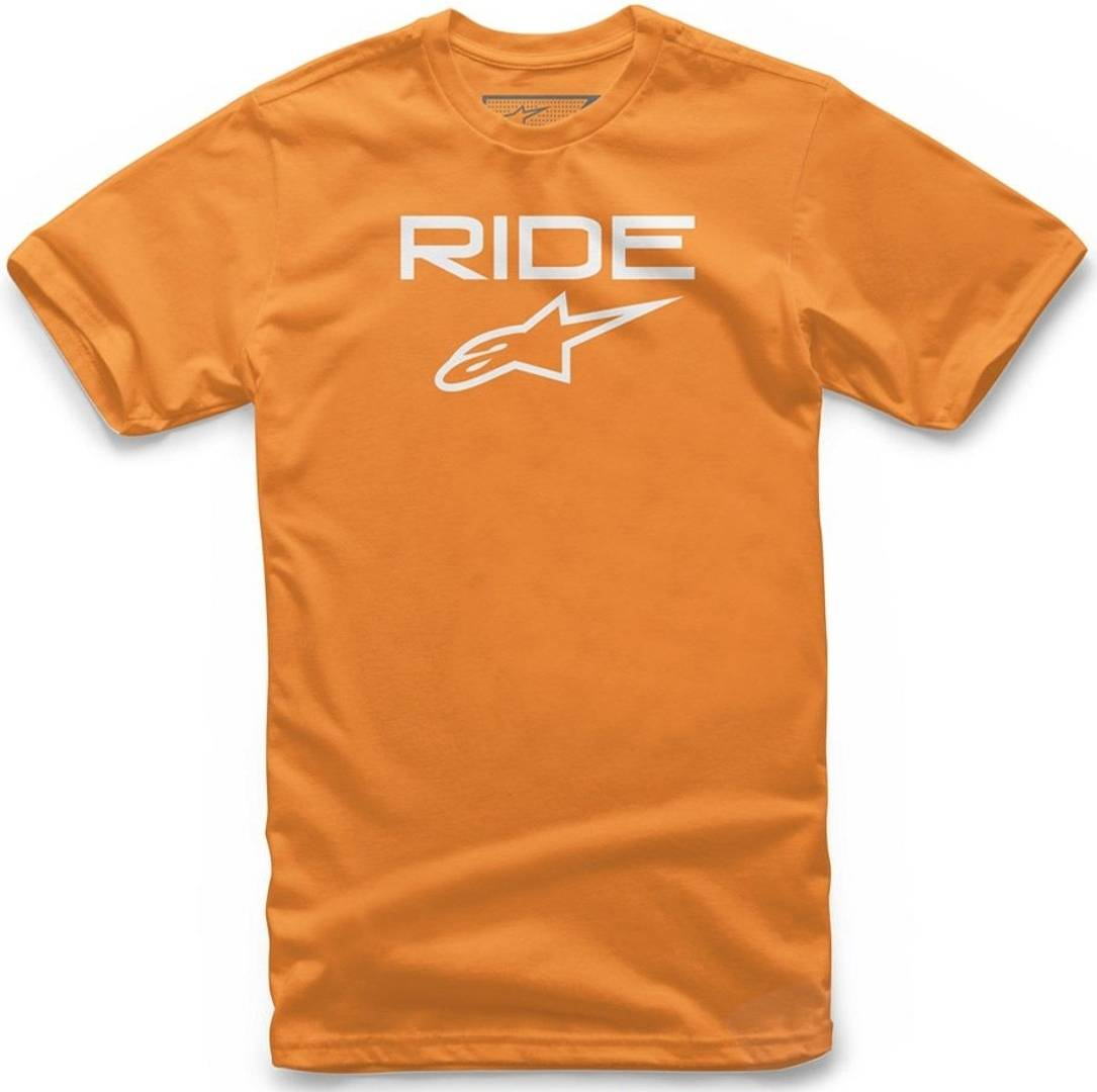 Alpinestars Ride 2.0 Youth t-shirt Bianco Arancione S