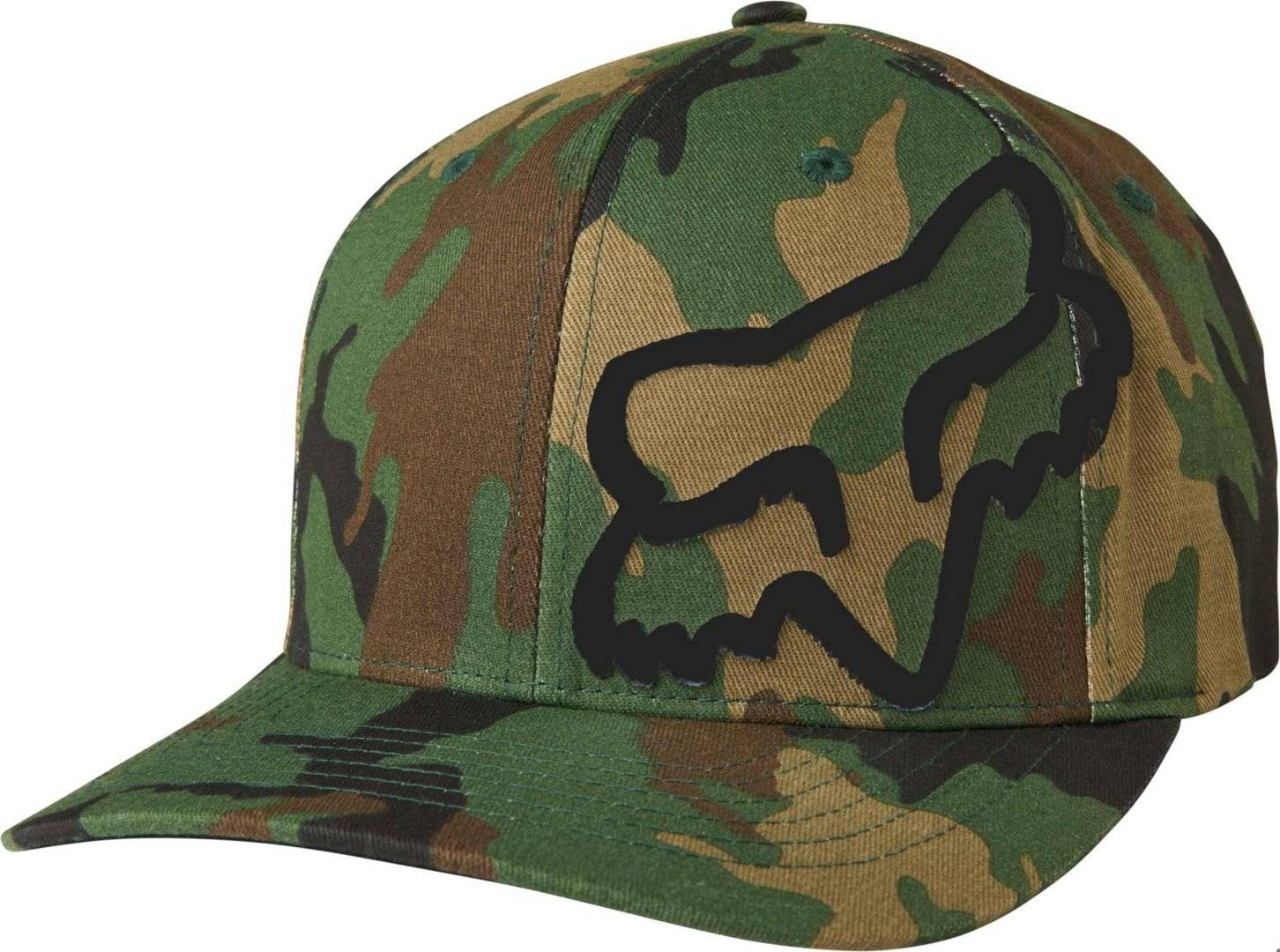 Fox Flex 45 FF Cappello Verde Marrone L XL