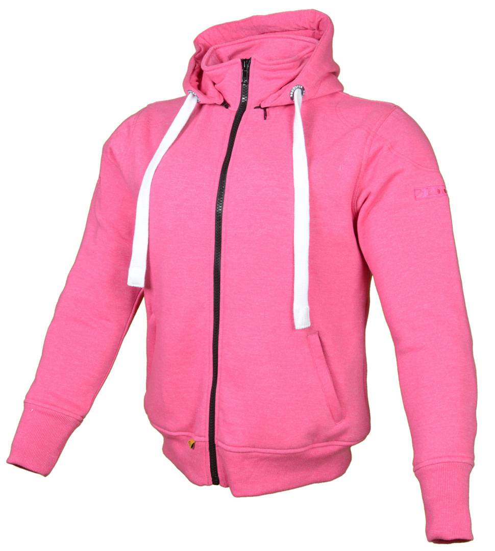 Booster Core Women´s Hoody Le signore moto Zip Hoodie Rosa XL