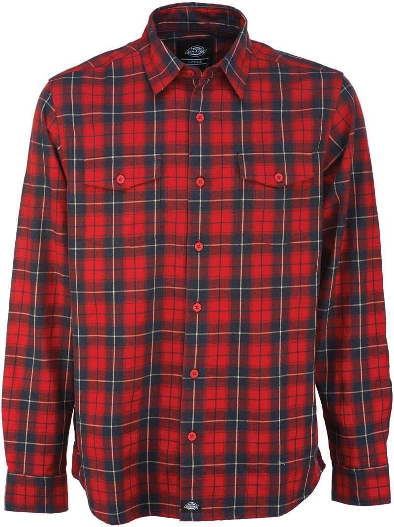 Dickies New Hope Camicia Rosso M