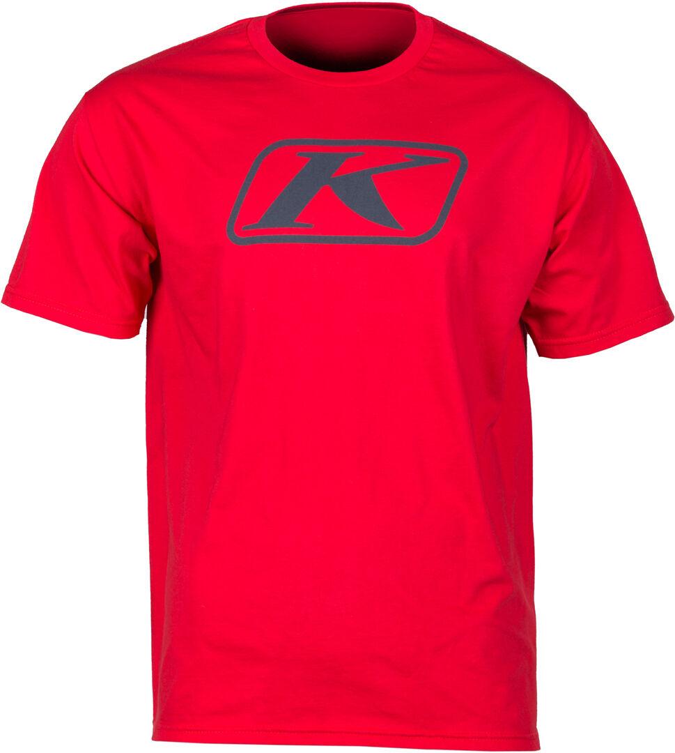 Klim Icon T-shirt Rosso 2XL