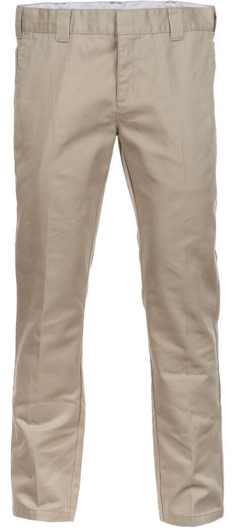 Dickies Slim Fit Work Pantaloni Verde Marrone 30