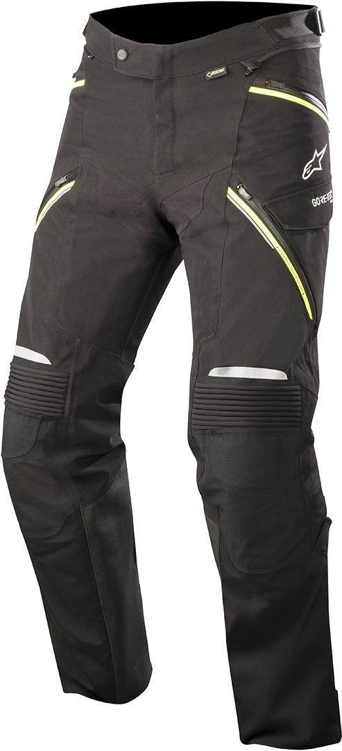 Alpinestars Big Sure Gore-Tex Pro Pantalone moto tessile Nero Giallo 4XL
