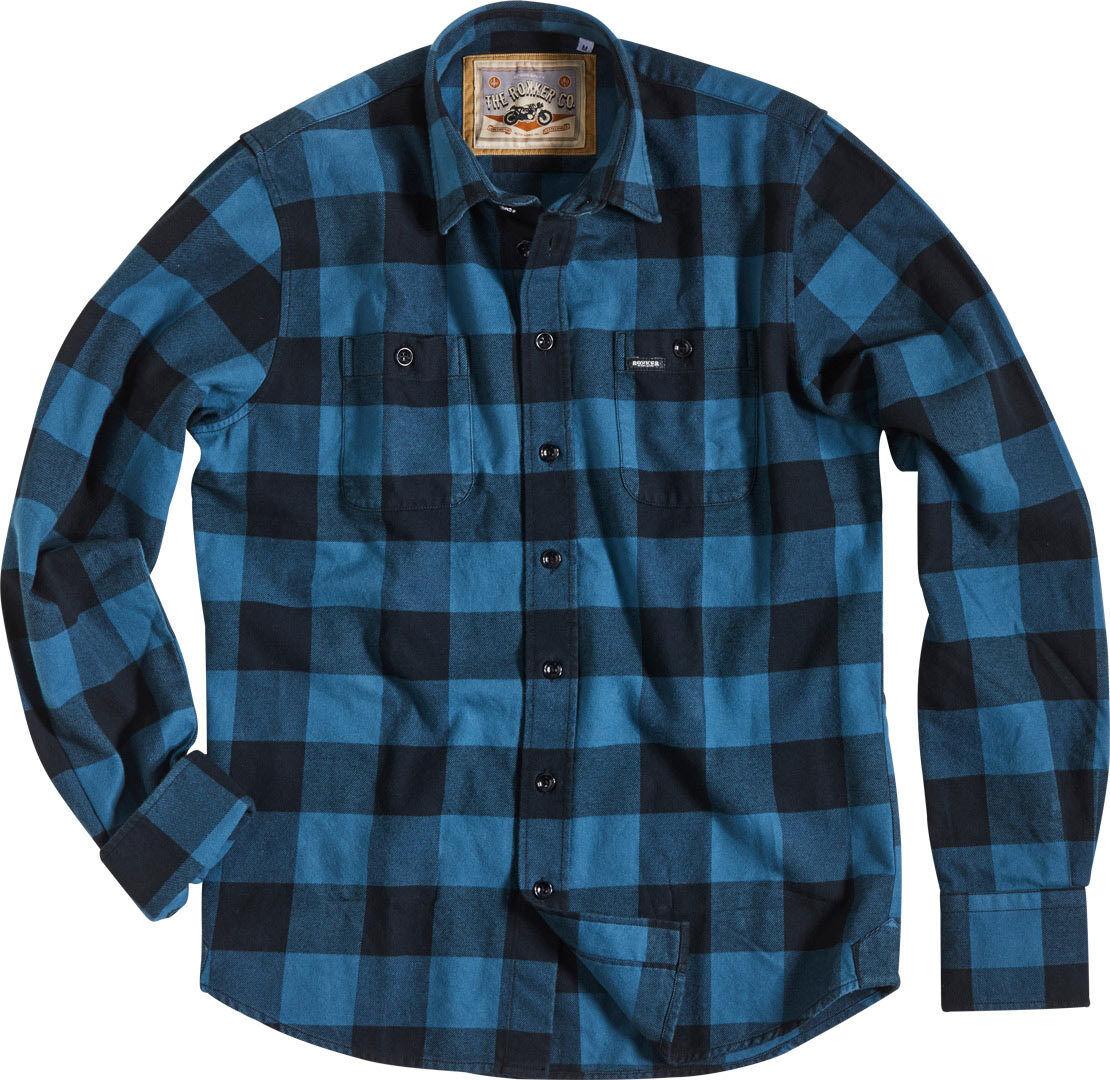 Rokker Denver Camicia Blu 2XL
