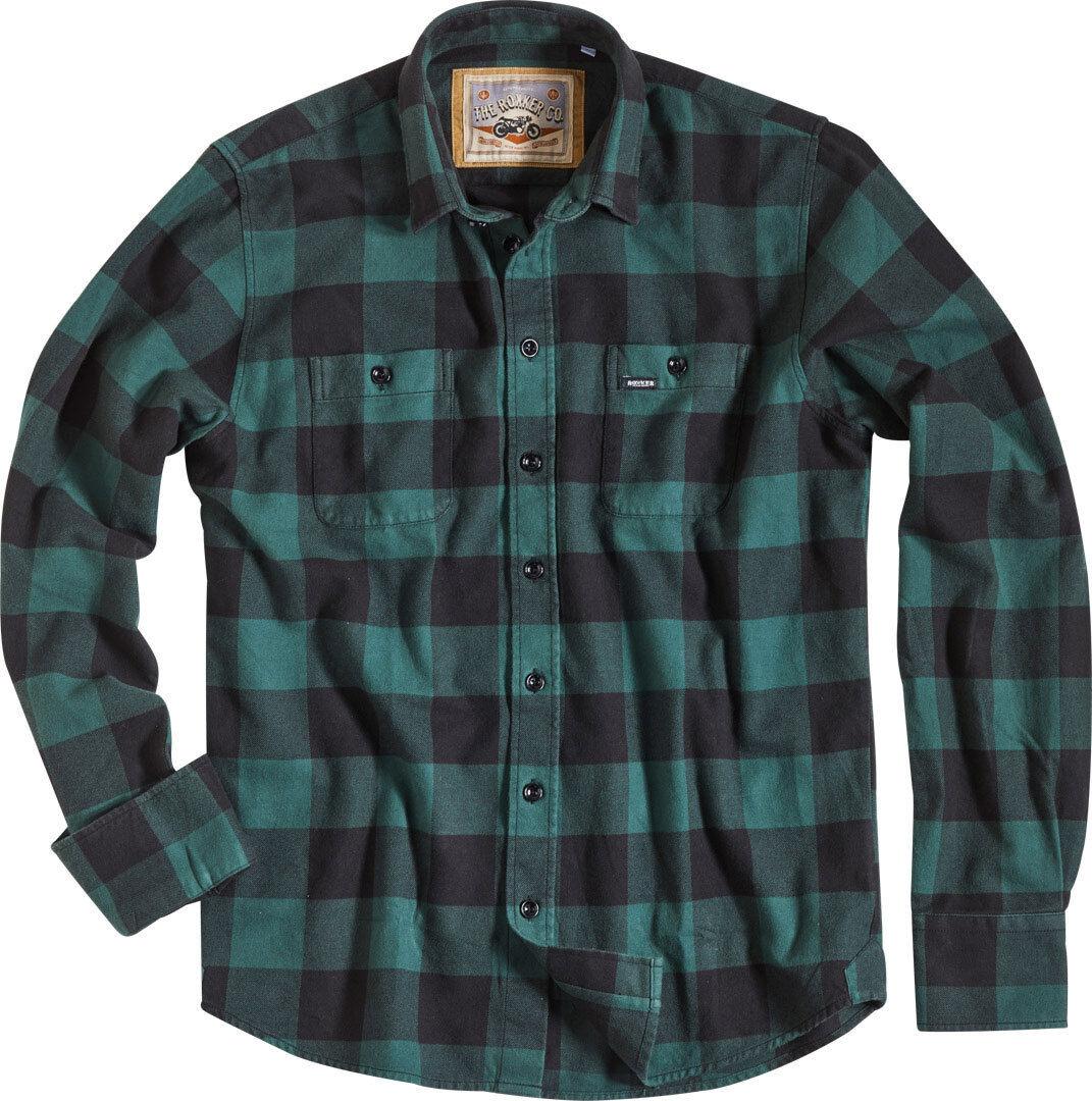 Rokker Denver Camicia Verde 2XL