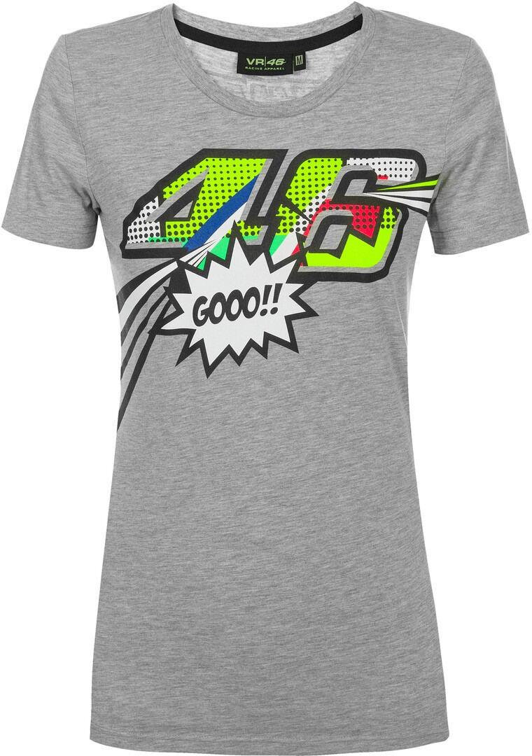 VR46 Pop Art T-shirt donna Grigio S