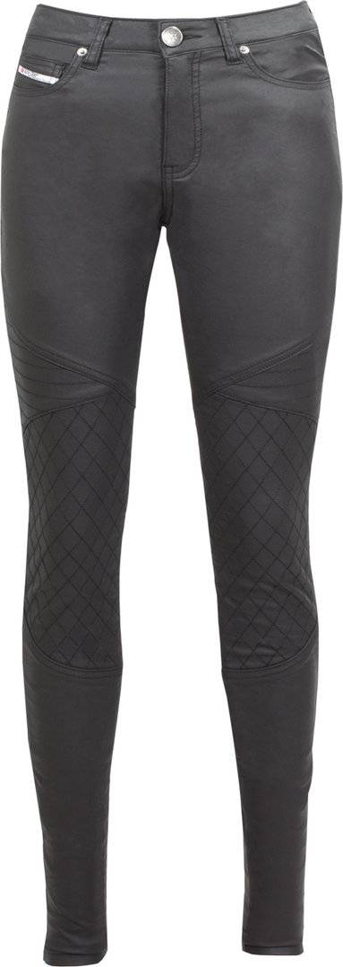 John Doe Betty Biker XTM Donne Moto Jeggings Nero 26
