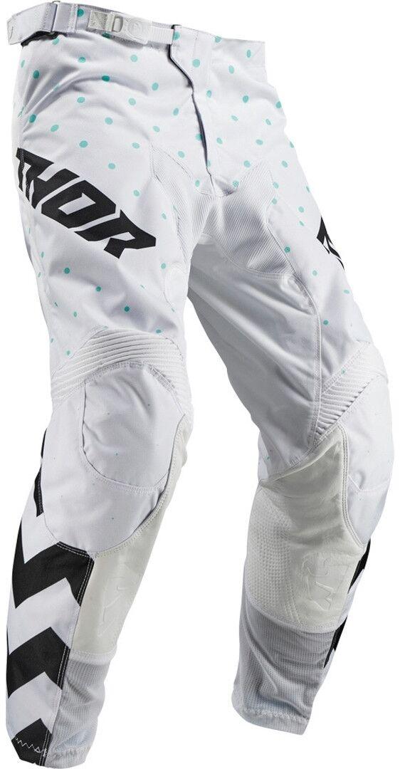 Thor Pulse Stunner S9Y Black Pantaloni della gioventù Nero Bianco M