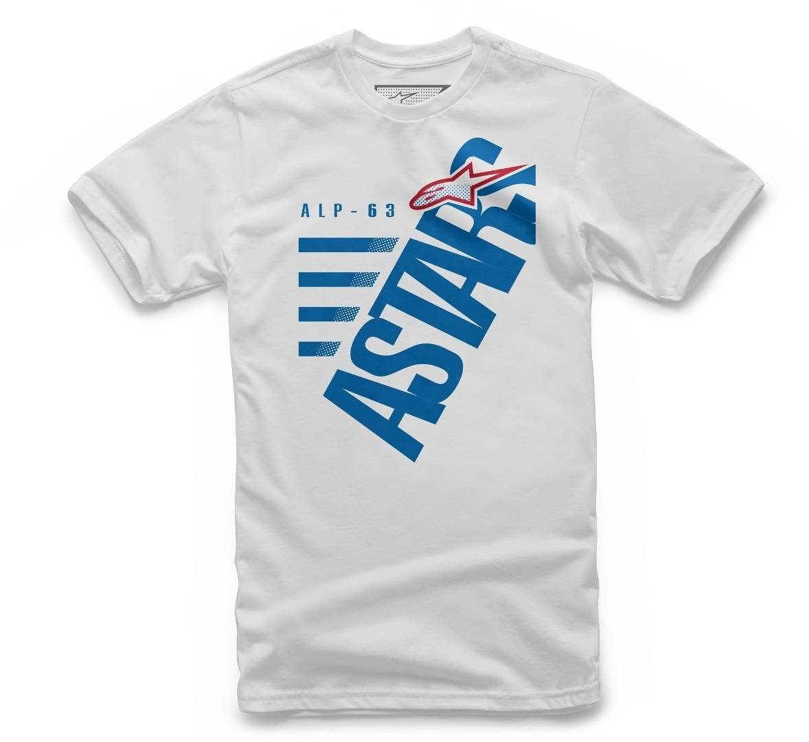 Alpinestars Bigun Tee T-shirt bambini Bianco XL