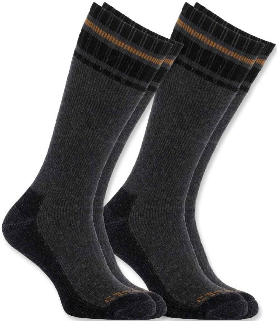 Carhartt Cold Weather Thermal Calzini (2-Pack) Grigio L