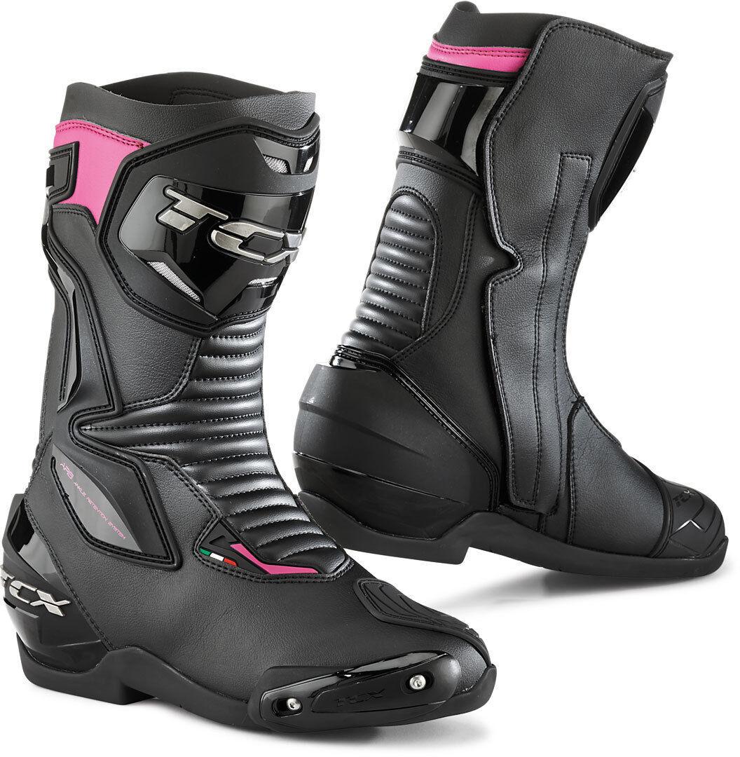 TCX Sp-Master Stivali moto donna Nero Porpora 39
