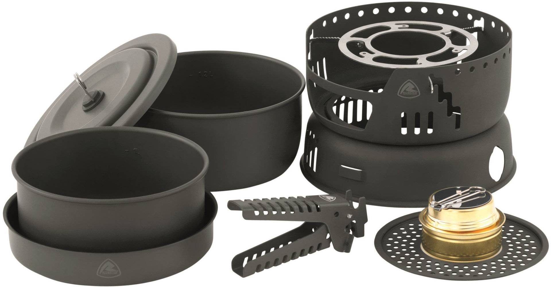 Robens Cookery King Set di cuochi Tempeste Nero unica taglia