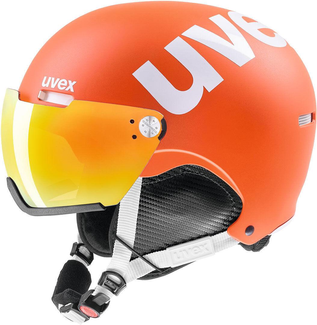 Uvex HLMT 500 Visor Casco da sci Arancione M L XL