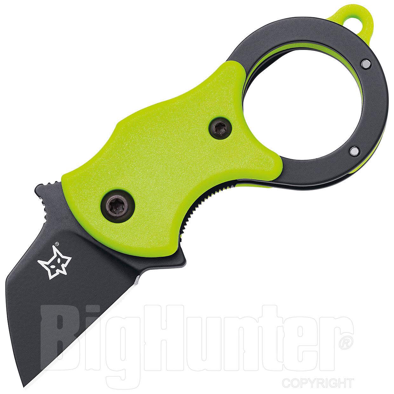 Fox Coltello Fox Knives Mini-TA FRN Green Fluo