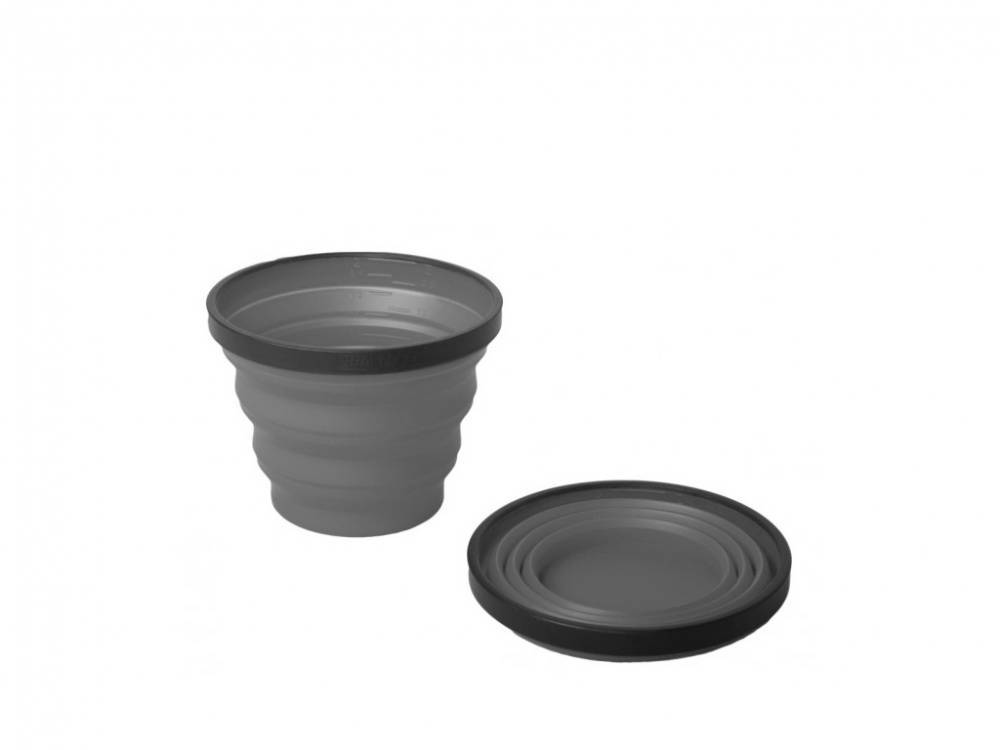 Sea to Summit Tazza Silicone X-Cup Grey Dcupz03