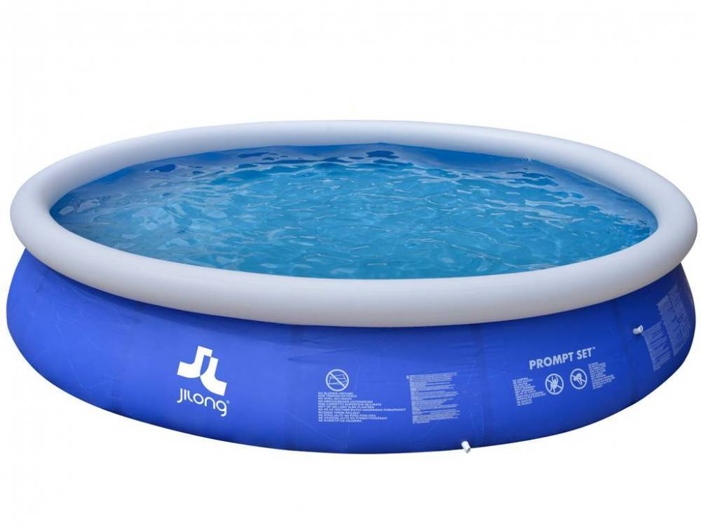 Jilong Piscina Fuoriterra Rotonda Autoportante Prompt Set 10217ng