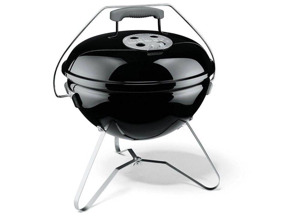 weber barbecue a carbonella smokey joe premium Ø 37 nero 1121004
